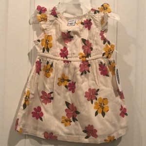 Old Navy floral dress 0-3 months NWT